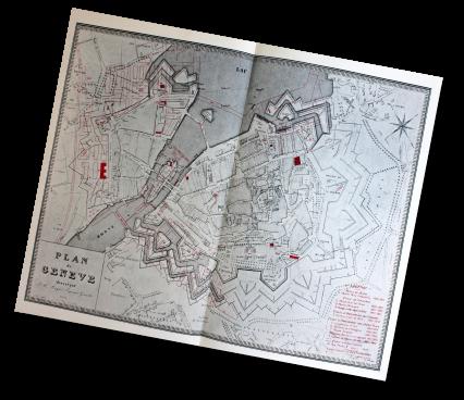 Plan de Genève, Mayer - 1831