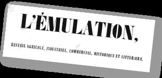 L'émulation: recueil agricole, industriel, commercial, historique et littéraire (Fribourg)