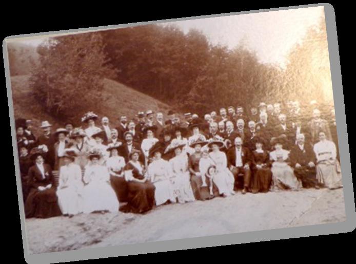 Gesellschaftsarchiv SANW, Burgerbibliothek Bern - Souvenir à l'occasion de la 112e réunion annuelle de la Société helvétique des sciences naturelles, Vevey, 1909